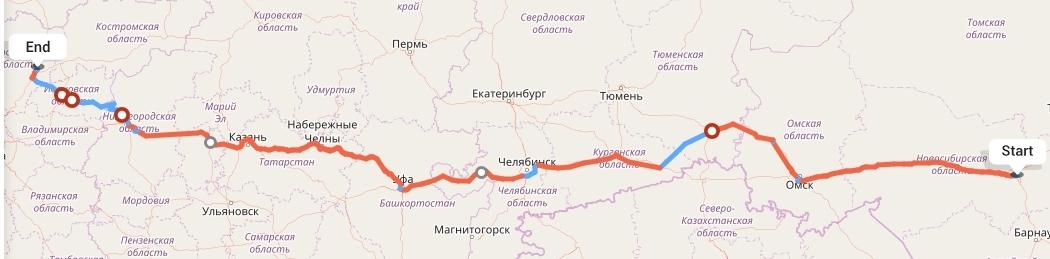 Переезд из Новосибирска в Ярославль