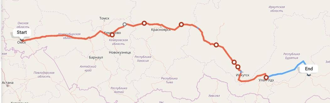 Переезд из Омска в Читу