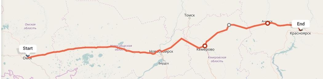 Переезд из Омска в Красноярск