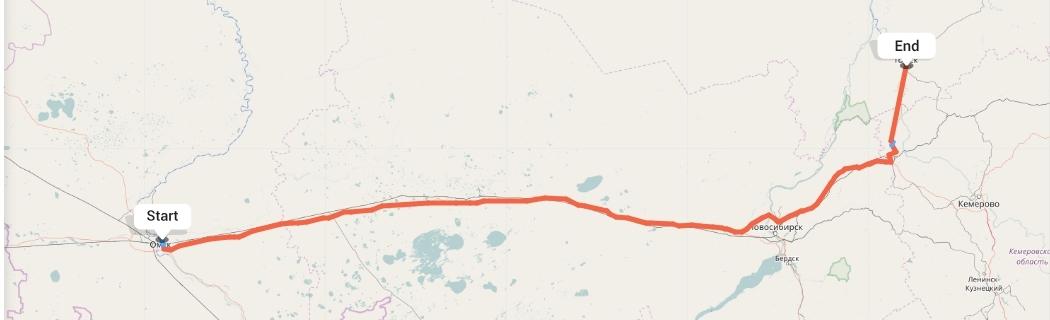 Переезд из Омска в Томск