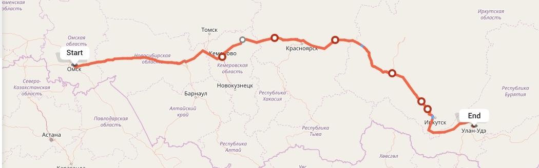 Переезд из Омска в Улан-Удэ