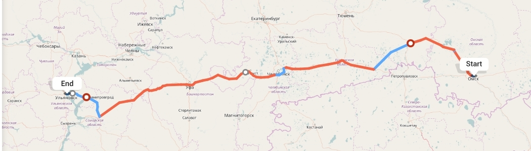 Переезд из Омска в Ульяновск
