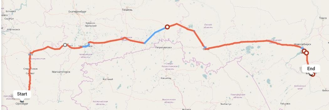 Переезд из Оренбурга в Барнаул