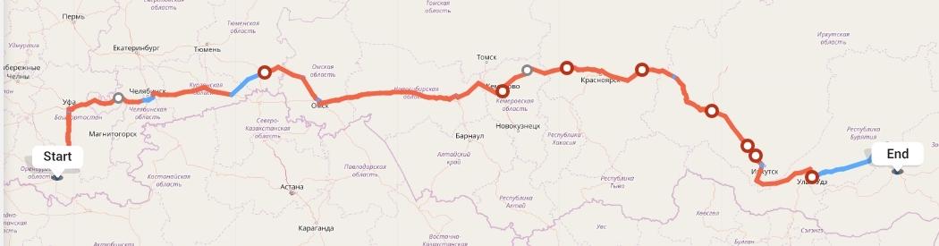 Переезд из Оренбурга в Читу