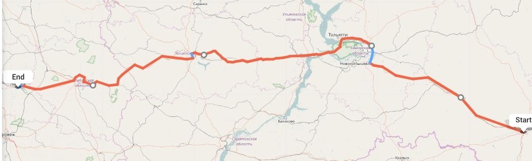 Переезд из Оренбурга в Липецк