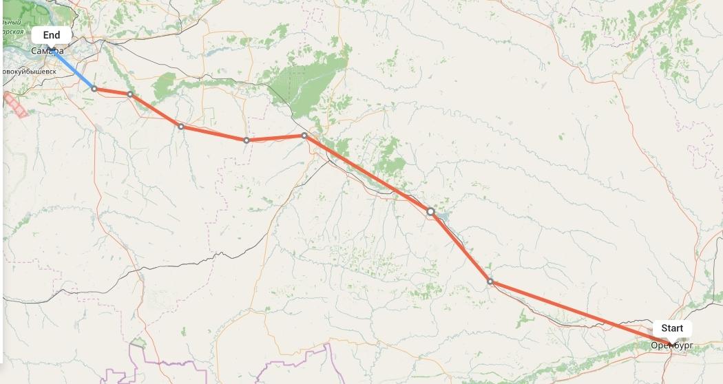 Переезд из Оренбурга в Самару