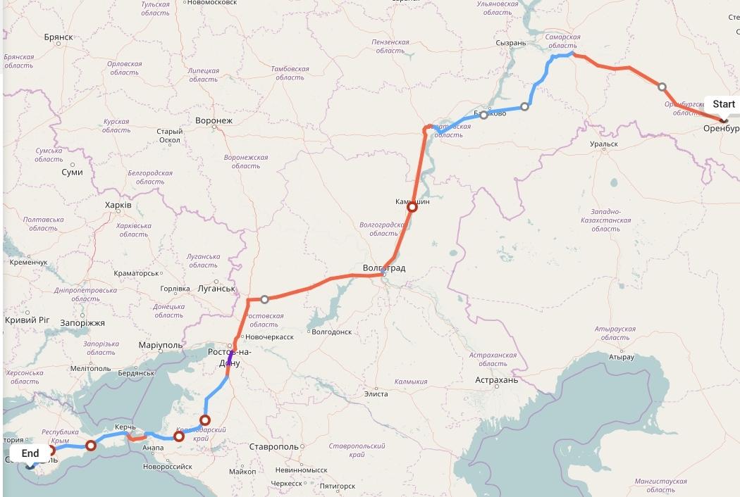 Переезд из Оренбурга в Севастополь