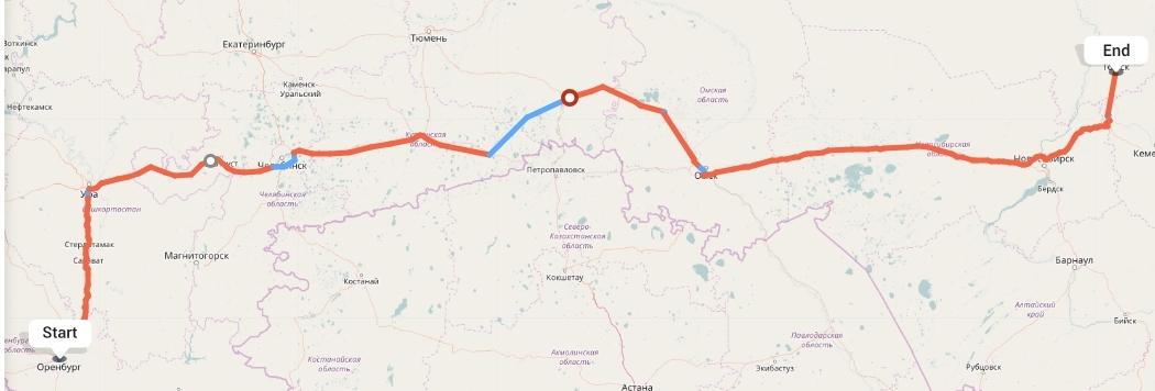 Переезд из Оренбурга в Томск