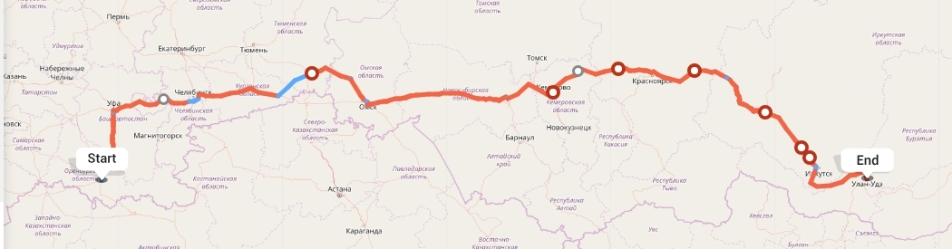 Переезд из Оренбурга в Улан-Удэ