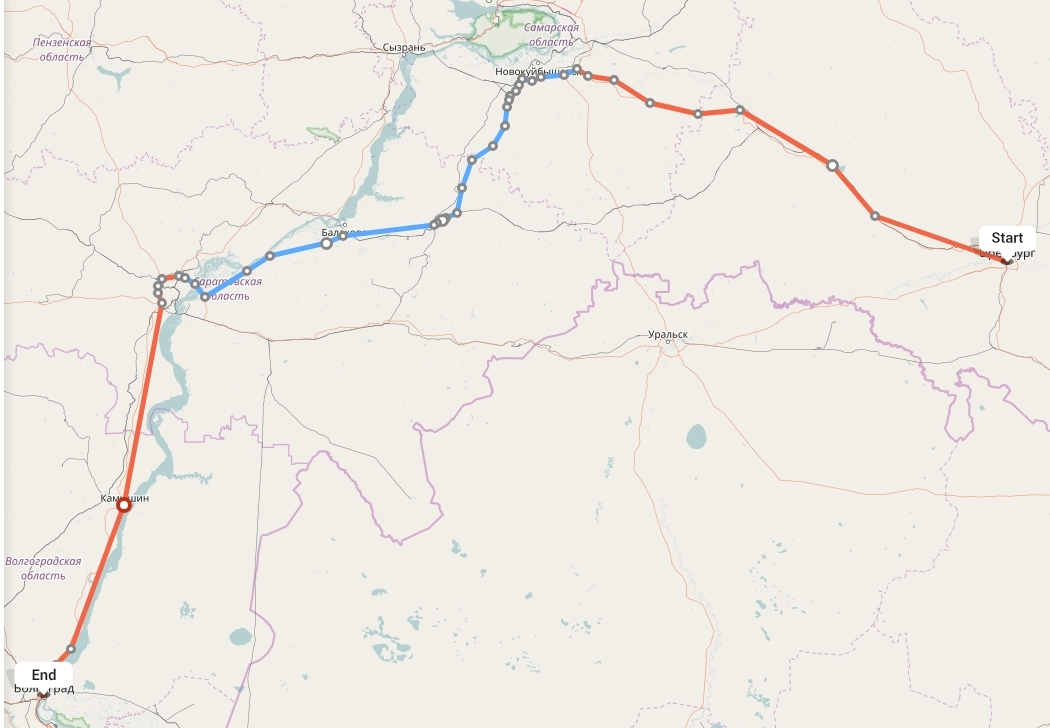Переезд из Оренбурга в Волгоград