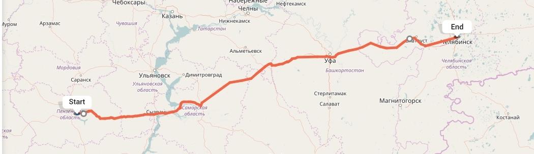 Переезд из Пензы в Челябинск