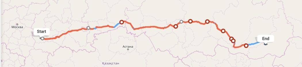Переезд из Пензы в Читу