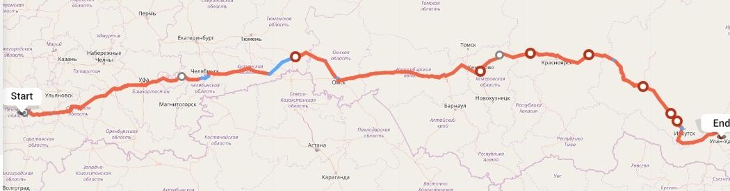 Переезд из Пензы в Улан-Удэ