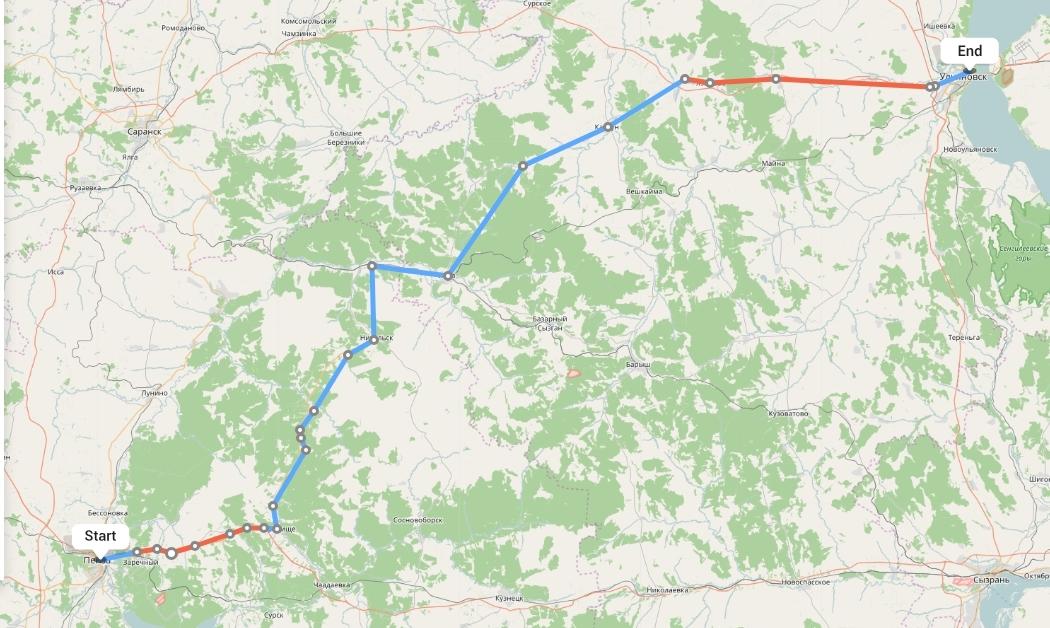 Переезд из Пензы в Ульяновск