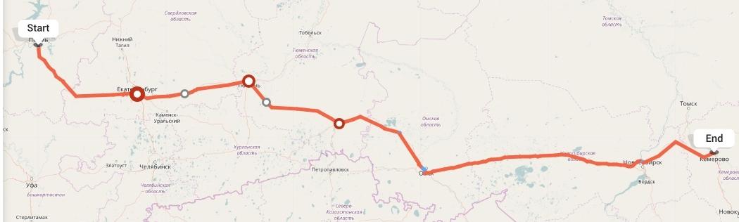 Переезд из Перми в Кемерово
