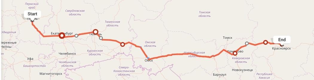 Переезд из Перми в Красноярск