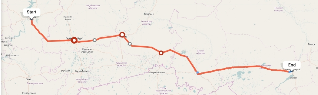 Переезд из Перми в Новосибирск