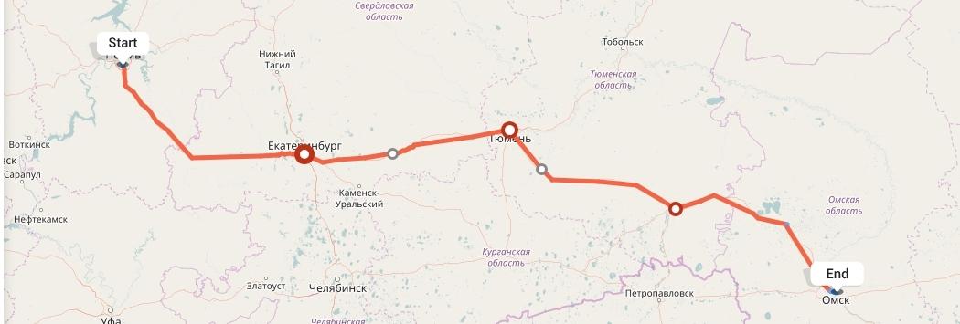 Переезд из Перми в Омск