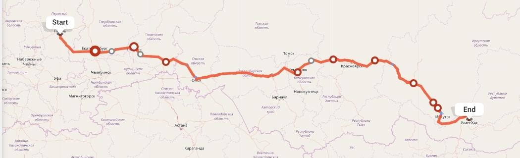 Переезд из Перми в Улан-Удэ