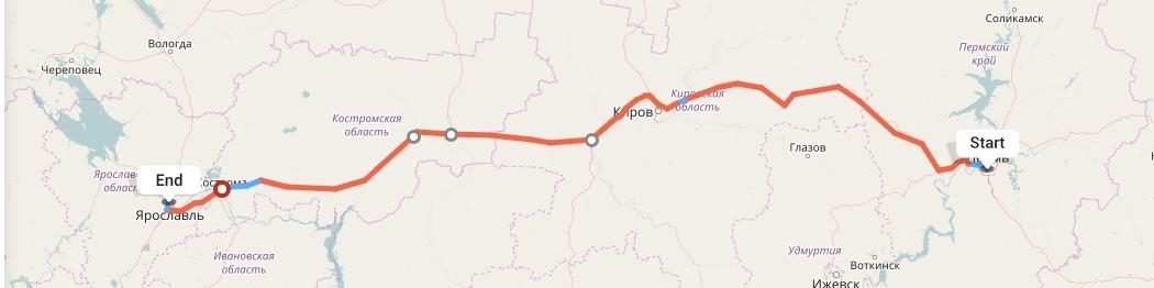 Переезд из Перми в Ярославль