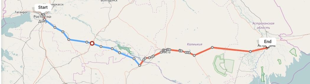 Переезд из Ростова-на-Дону в Астрахань