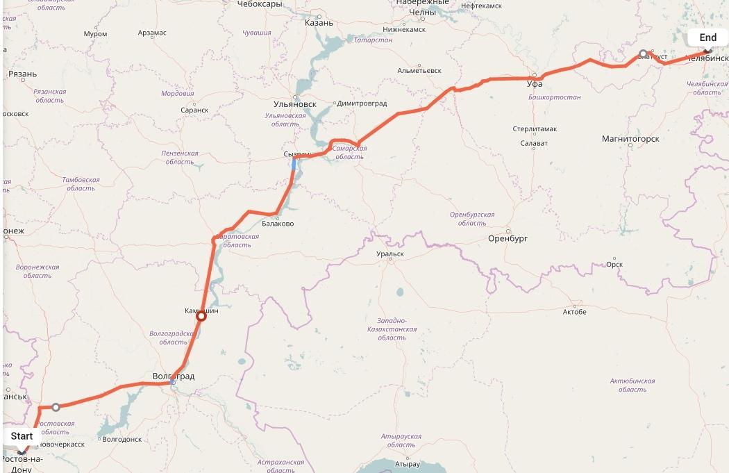 Переезд из Ростова-на-Дону в Челябинск