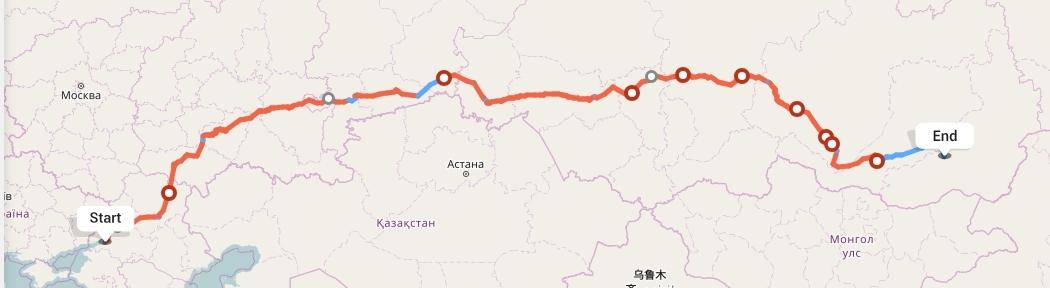 Переезд из Ростова-на-Дону в Читу
