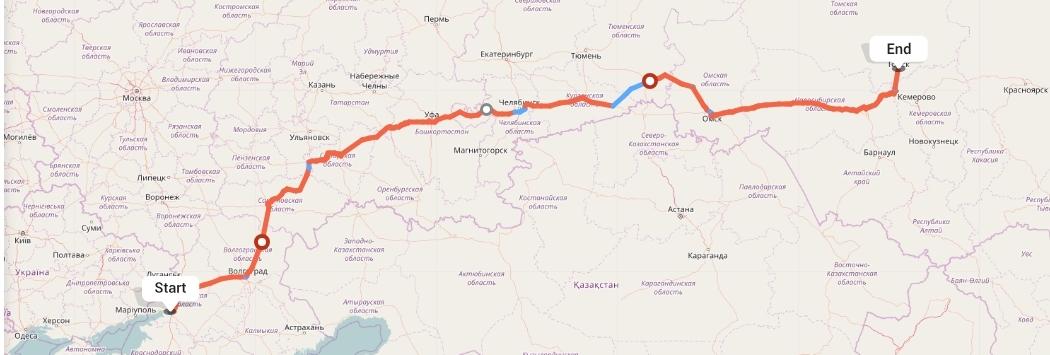 Переезд из Ростова-на-Дону в Томск