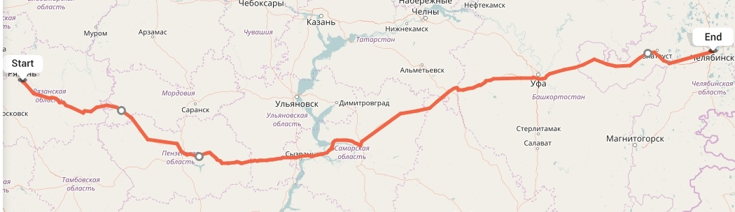 Переезд из Рязани в Челябинск
