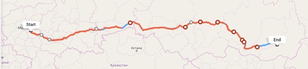 Переезд из Рязани в Читу