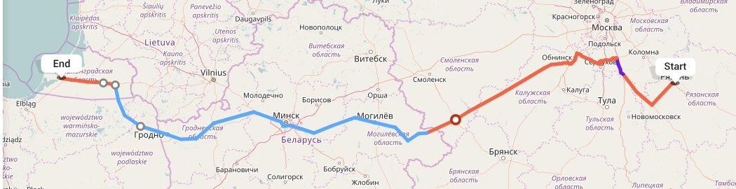 Переезд из Рязани в Калининград