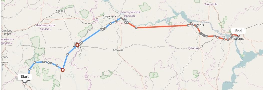 Переезд из Рязани в Казань