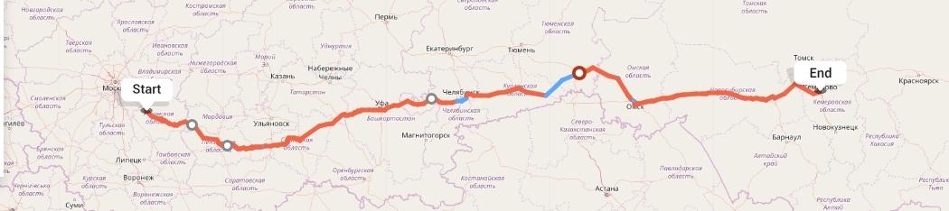 Переезд из Рязани в Кемерово