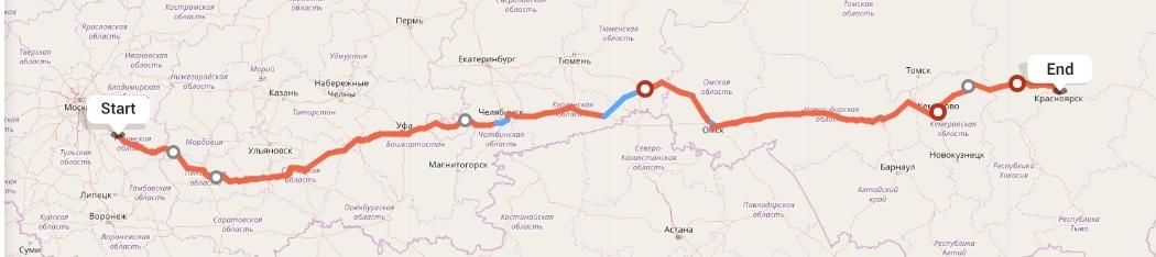 Переезд из Рязани в Красноярск