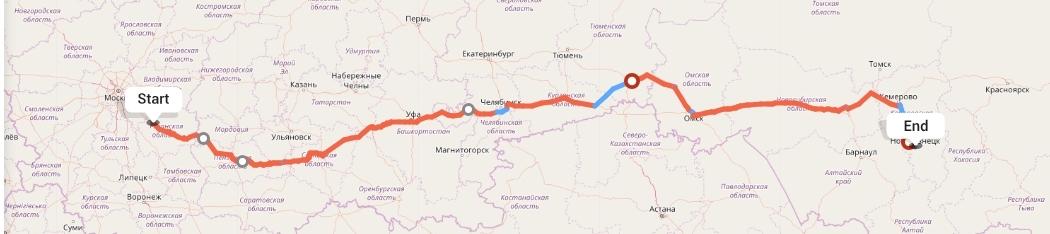 Переезд из Рязани в Новокузнецк