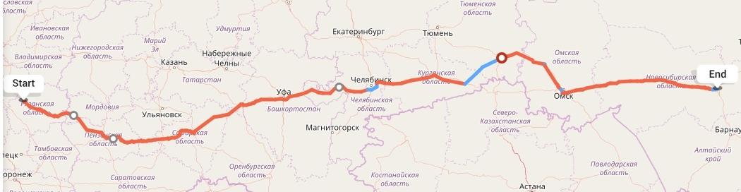 Переезд из Рязани в Новосибирск