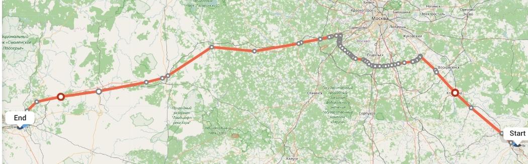 Переезд из Рязани в Смоленск
