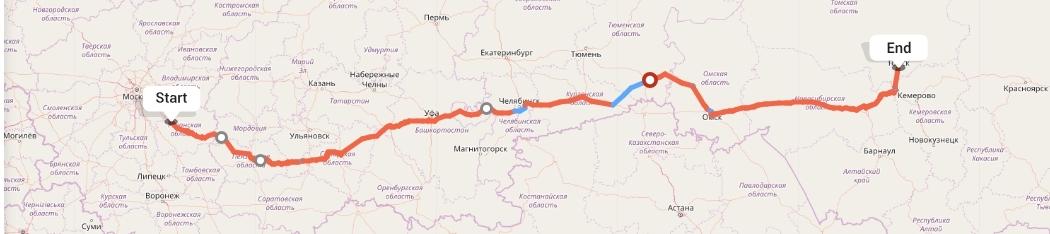 Переезд из Рязани в Томск