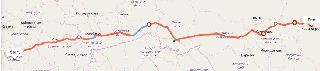 Переезд из Самары в Красноярск