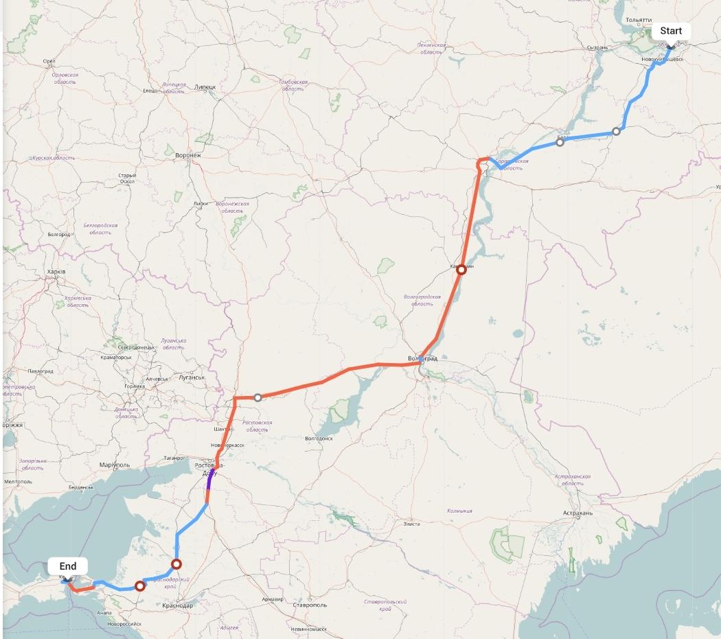 Переезд из Самары в Крым