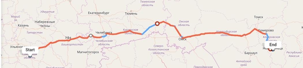 Переезд из Самары в Новокузнецк