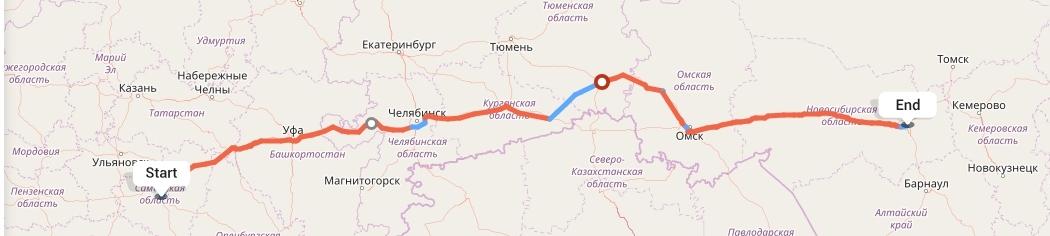 Переезд из Самары в Новосибирск