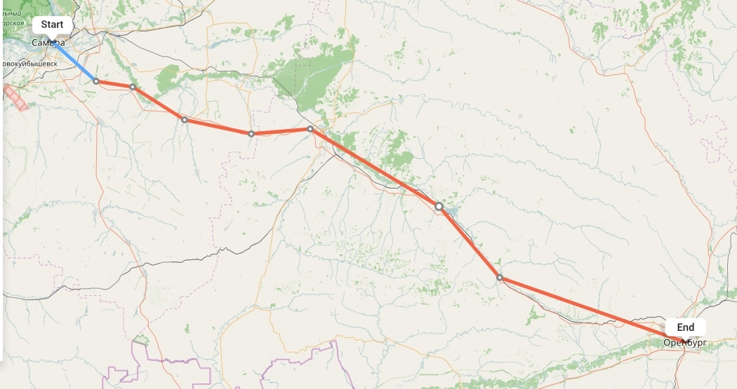 Переезд из Самары в Оренбург