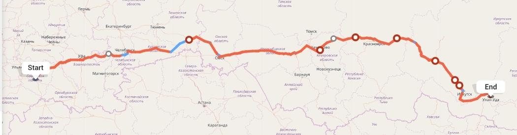 Переезд из Самары в Улан-Удэ
