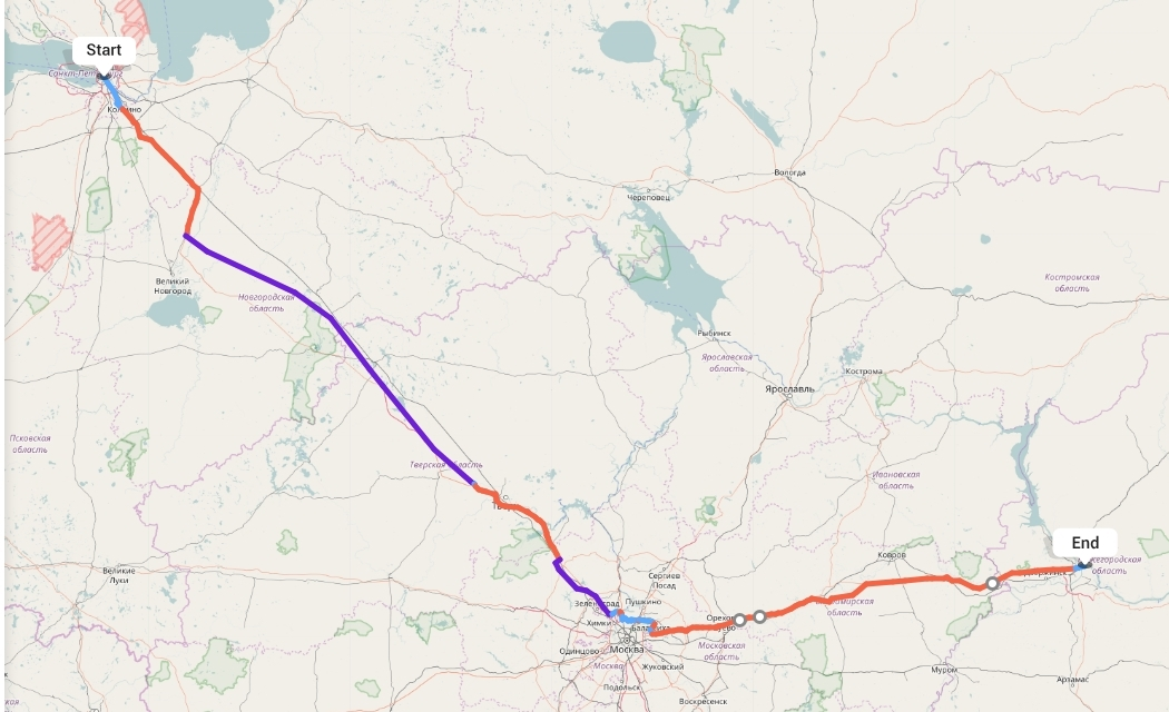 Переезд из Санкт-Петербурга в Нижний Новгород