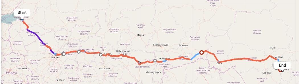 Переезд из Санкт-Петербурга в Новокузнецк