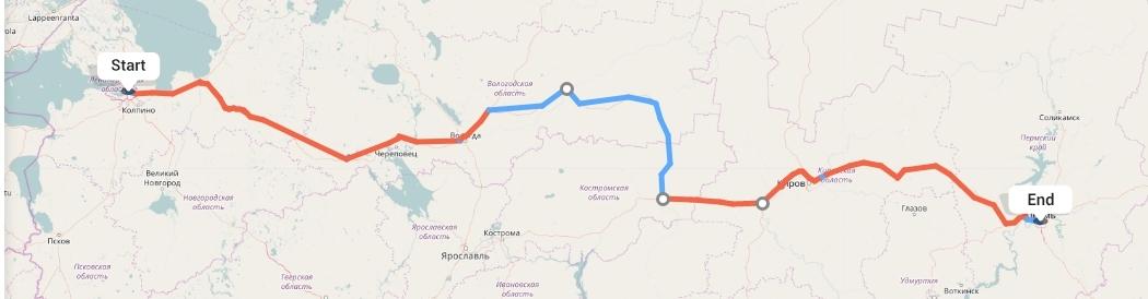 Переезд из Санкт-Петербурга в Пермь