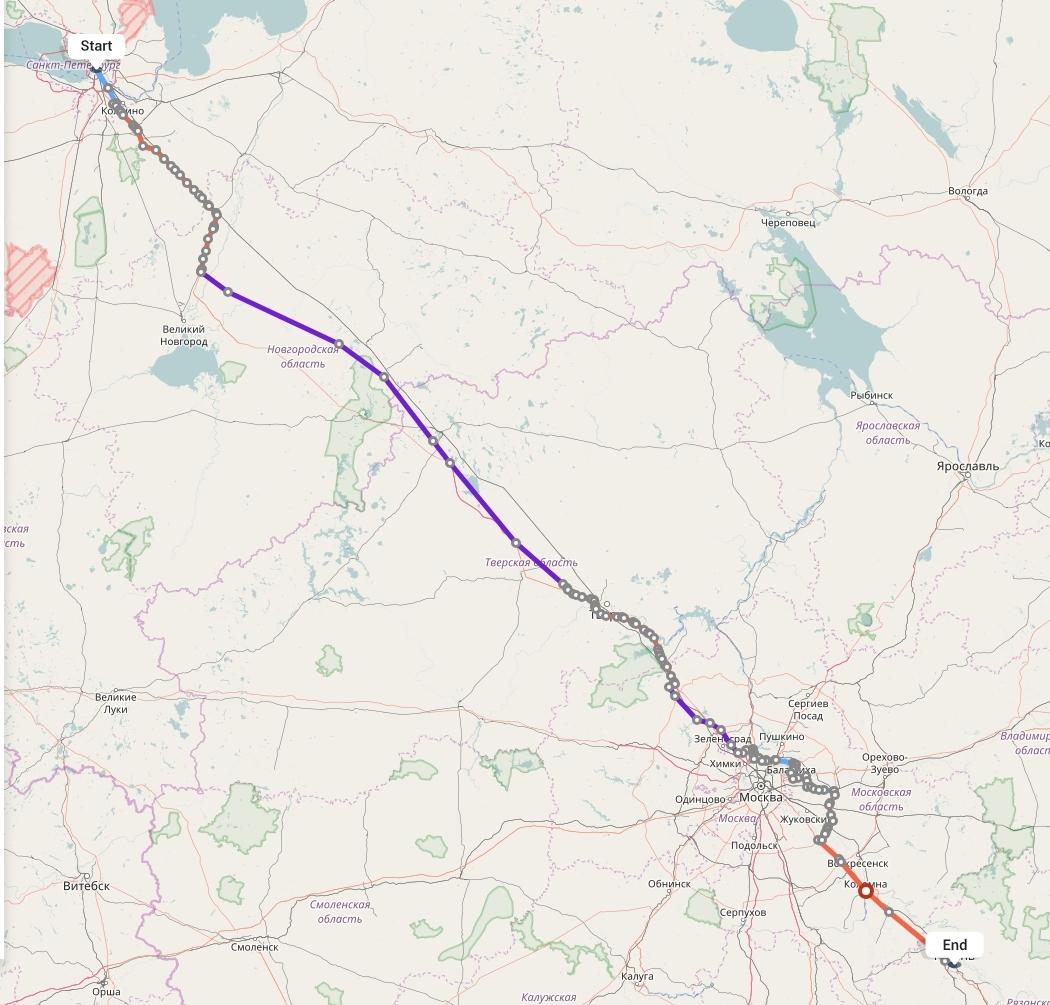 Переезд из Санкт-Петербурга в Рязань