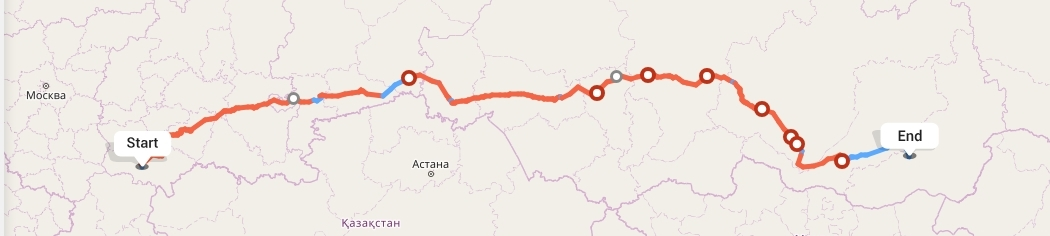 Переезд из Саратова в Читу