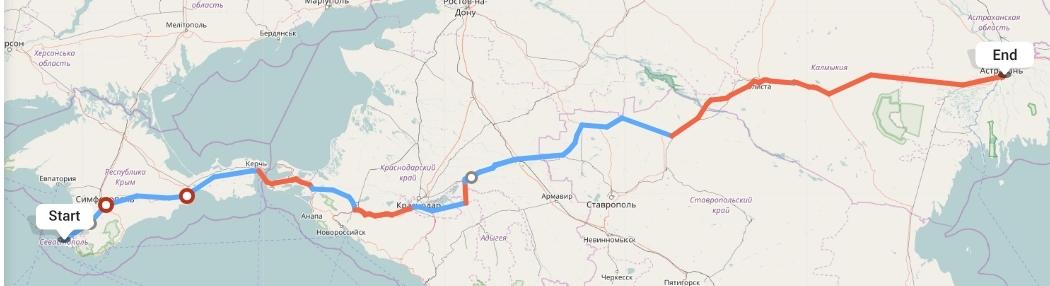 Переезд из Севастополя в Астрахань